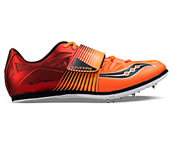 Soarin J 2, Red | Orange, dynamic