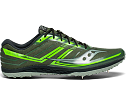 Kilkenny XC7 Spike, Green | Slime, dynamic