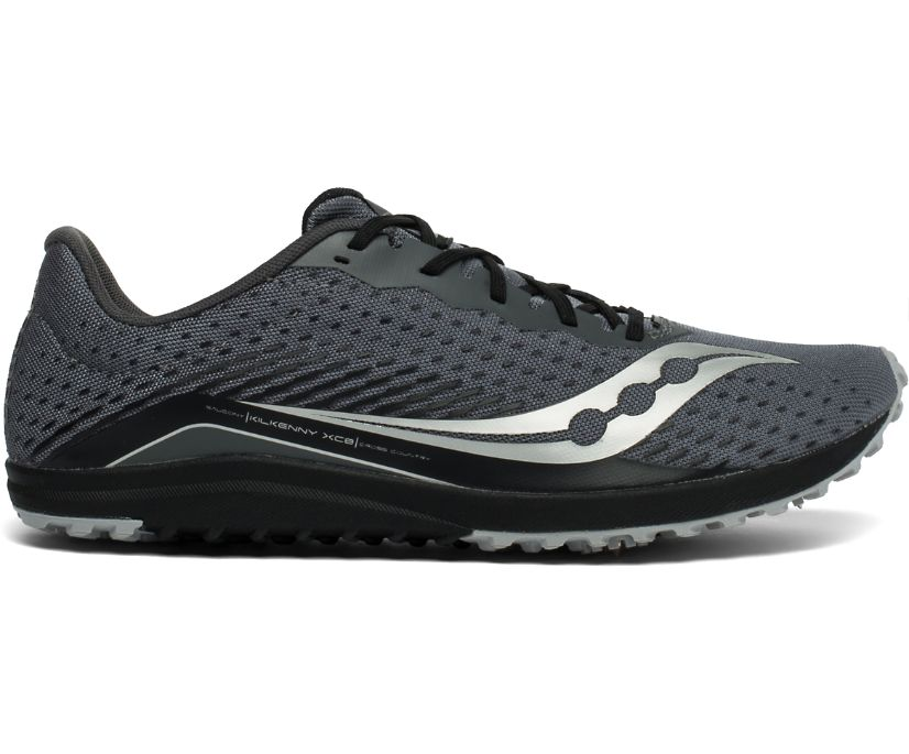 Kilkenny XC8 Spike, Black | Silver, dynamic