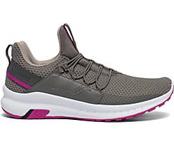 Stretch & Go Glide, Grey | Pink, dynamic