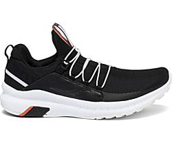 Stretch & Go Glide, Black | White | Coral, dynamic