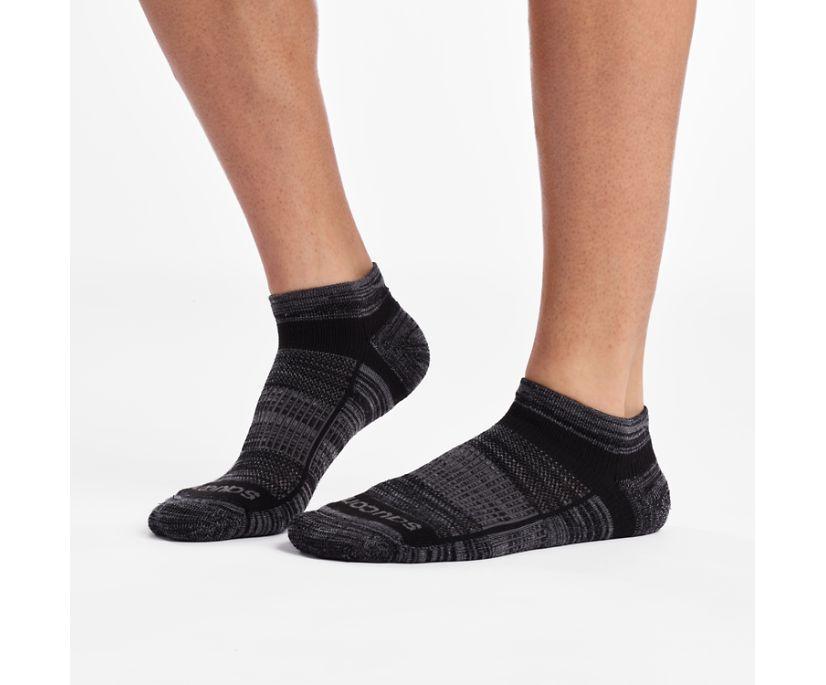 Inferno Merino Wool Blend Low Cut 3-Pack Sock, Black, dynamic
