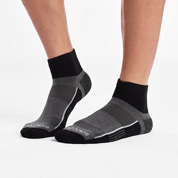 Inferno Quarter 3-Pack Socks, Black, dynamic