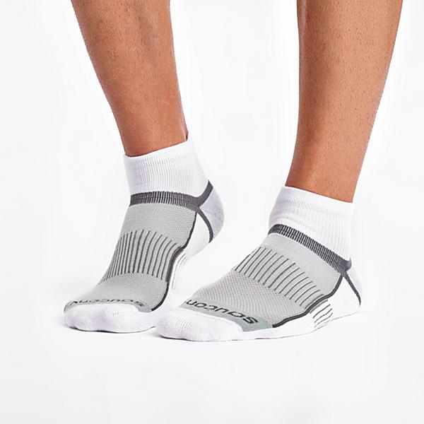 Inferno Quarter 3-Pack Socks, White, dynamic