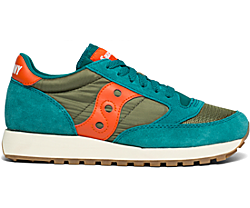 Jazz Original Vintage, Teal | Olive | Orange, dynamic
