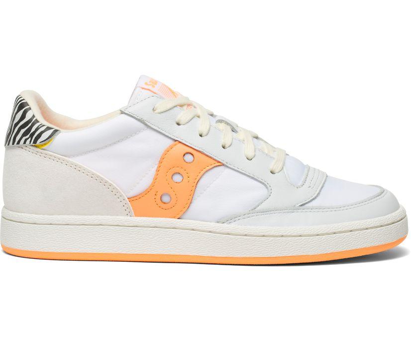 Jazz Court Glam Safari, White | Peach, dynamic