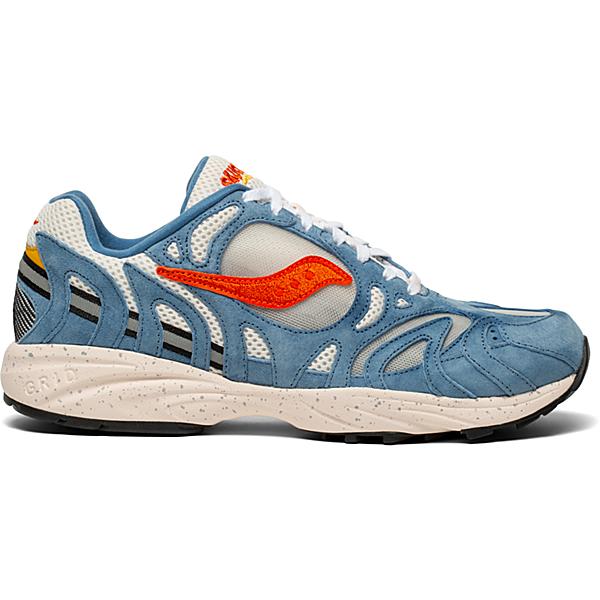 Grid Azura 2000, Blue | Orange, dynamic