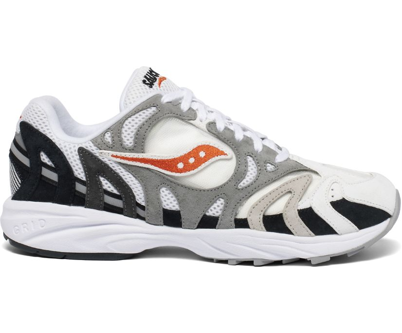 Grid Azura 2000, White | Gradient | Orange, dynamic