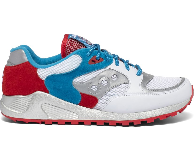 Kieran Jazz 4000, Red | White | Blue, dynamic