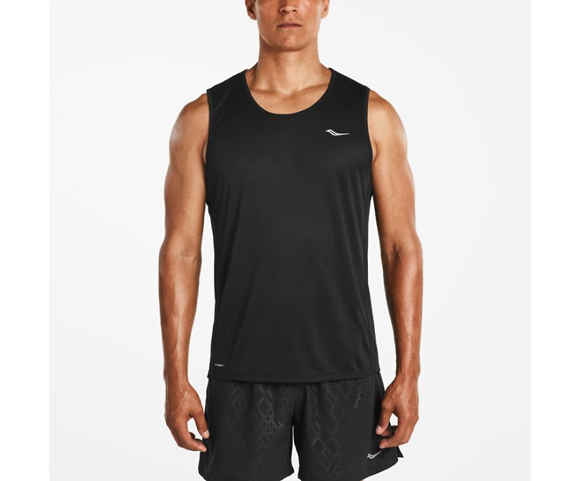 Hydralite Sleeveless, Black, dynamic
