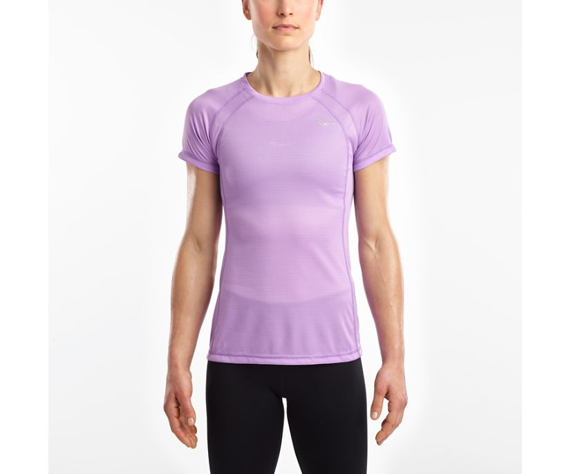 Hydralite Short Sleeve, Sunlit Allium, dynamic
