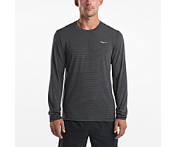 Freedom Long Sleeve, Black | Dark Heather Grey, dynamic