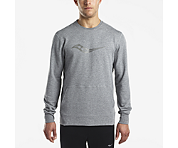Cooldown Long Sleeve, Dark Grey Heather, dynamic
