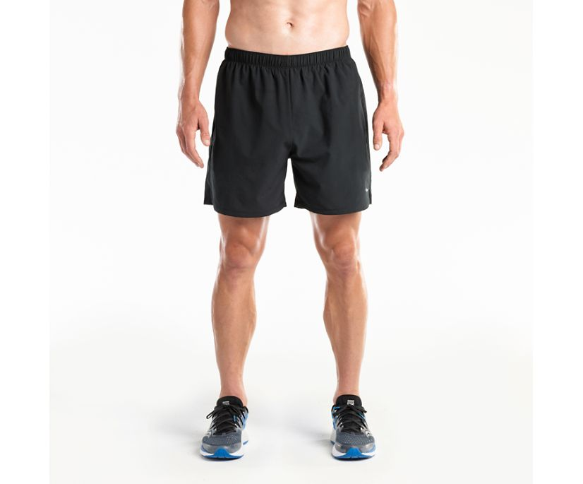 "Alpha 5"" Woven Short, Black, dynamic"