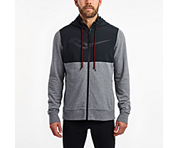 Cooldown Jacket, Dark Grey Heather | Black, dynamic