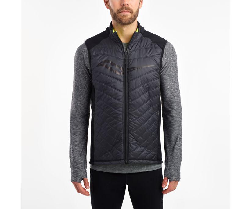 Reversi-Run Vest, Black | ViZiPRO Citron, dynamic