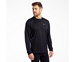 Stopwatch Long Sleeve, Black, dynamic