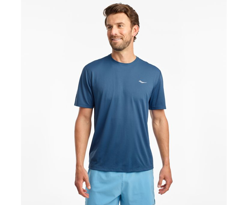 Stopwatch Short Sleeve, Ensign Blue, dynamic