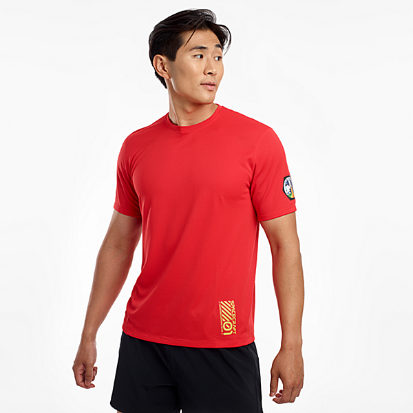 Ryan Stopwatch Short Sleeve, High Risk Red, dynamic