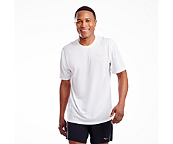 Stopwatch Short Sleeve, White, dynamic