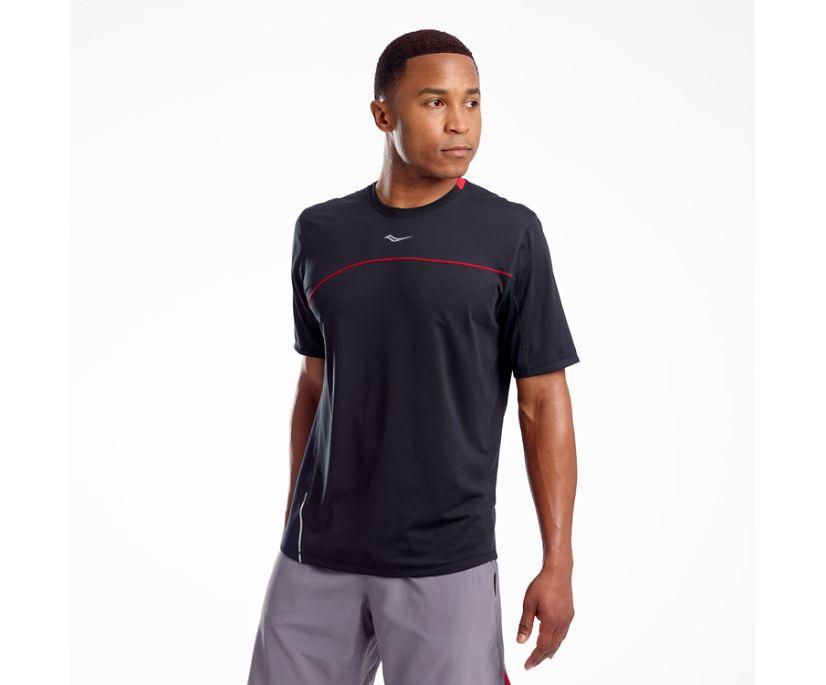 Drafty Short Sleeve, Black, dynamic