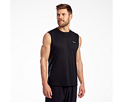 Stopwatch Sleeveless, Black, dynamic