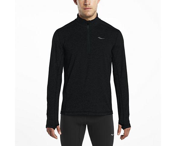 1/4 Zip Sportop, Black, dynamic