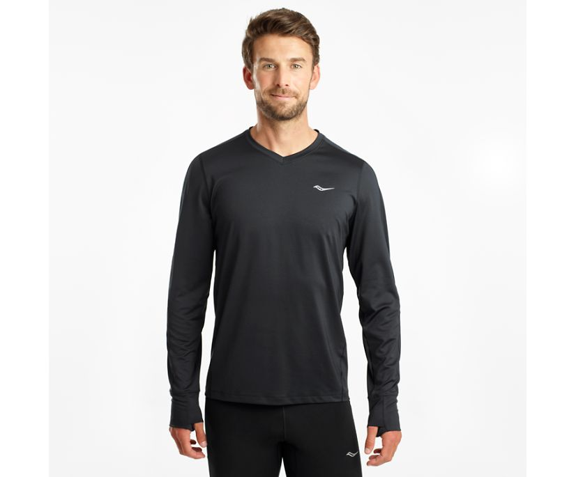 Overlook Long Sleeve, Black, dynamic