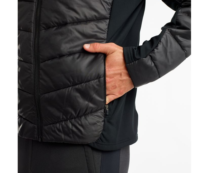 Snowdrift Jacket, Black, dynamic