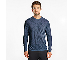 Ramble Long Sleeve, Mood Indigo, dynamic
