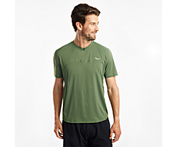 Zipline Short Sleeve, Bronze Green, dynamic