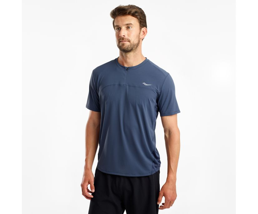 Zipline Short Sleeve, Mood Indigo, dynamic