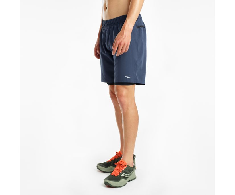 "Dustcloud 7"" 2-1 Short, Mood Indigo 
