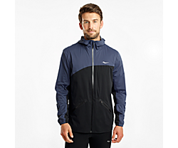 Drizzle Jacket, Mood Indigo | Black, dynamic