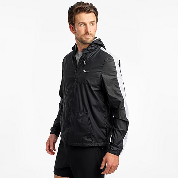 Packaway Jacket, Black, dynamic