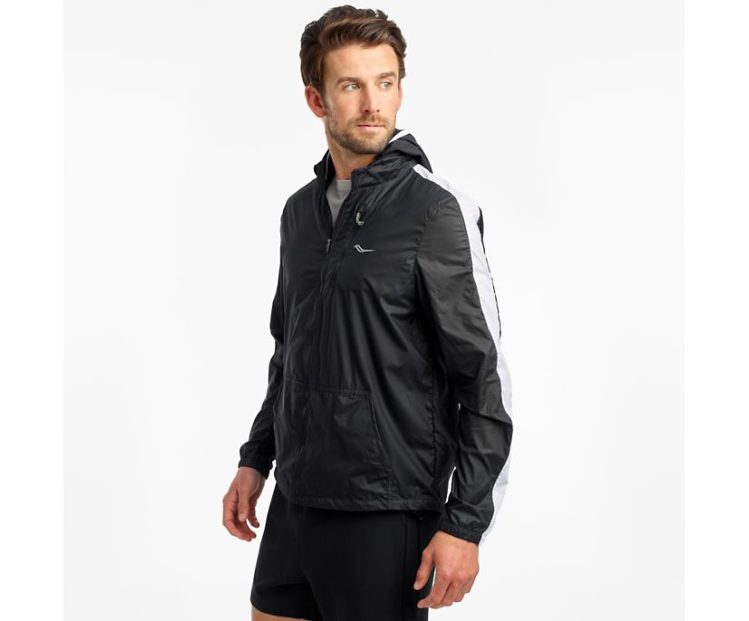 Packaway Jacket, Black, dynamic