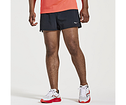 "Outpace 3"" Short, Black, dynamic"