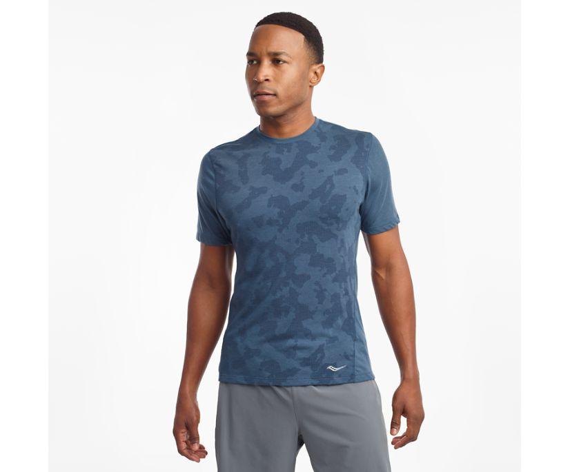 Ramble Short Sleeve, Ensign Blue, dynamic