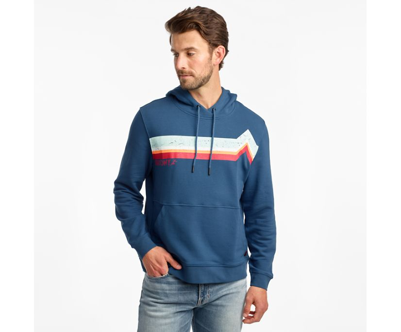Rested Hoodie, Ensign Blue, dynamic