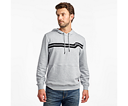 Rested Hoodie, Light Grey Heather, dynamic