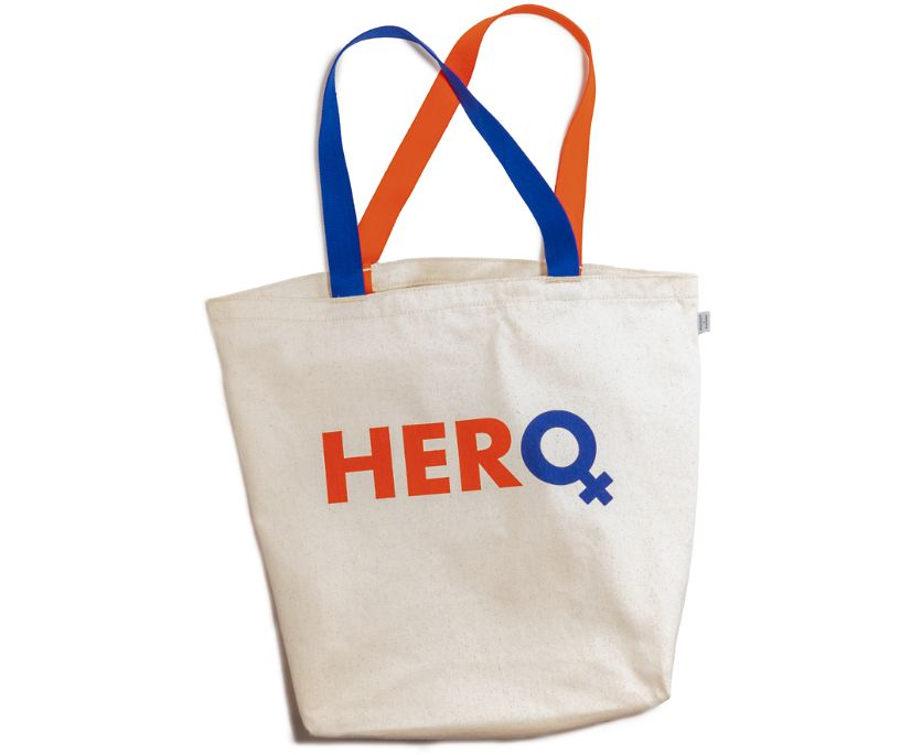 Hero Tote Bag, Natural, dynamic