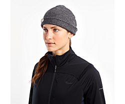 Cooldown Knit Beanie, Black | Carbon, dynamic
