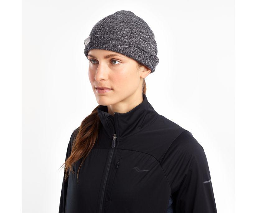 Cooldown Knit Beanie, Black | Carbon, dynamic