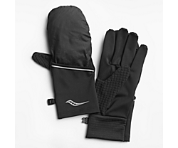 Fortify Convertible Glove, Black, dynamic
