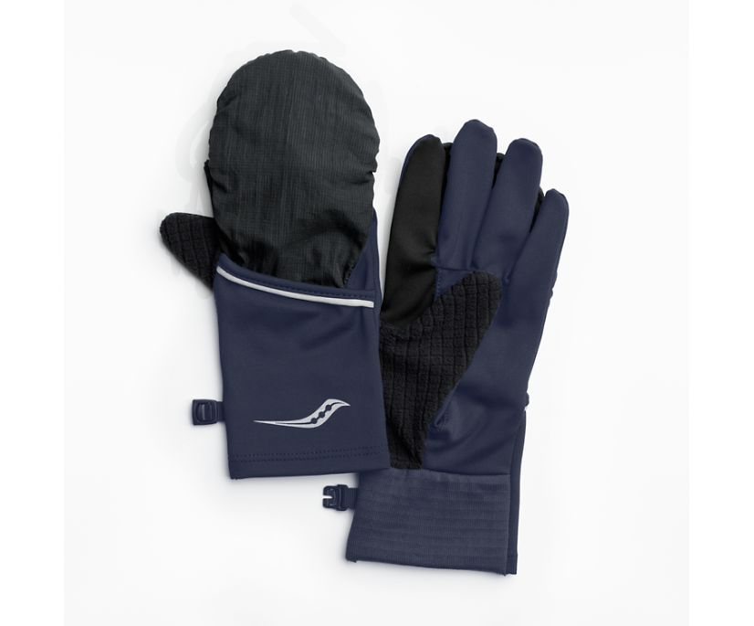 Fortify Convertible Glove, Mood Indigo, dynamic