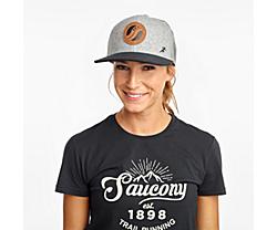 Saucony Trucker Hat, Light Grey Heather, dynamic
