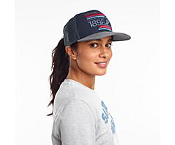 Saucony Trucker Hat, Navy Print, dynamic