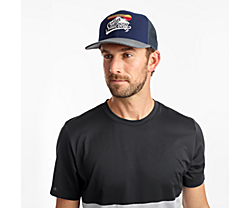 Saucony Trucker Hat, Navy, dynamic
