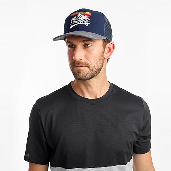 Saucony Trucker Hat, Navy, dynamic