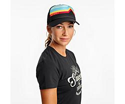 Saucony Foam Trucker Hat, Black, dynamic
